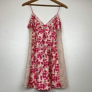 Victoria's Secret Lace Cherry Blossom Nightie